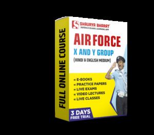Airfofrce x & y Group full online course-shaurya bharat app