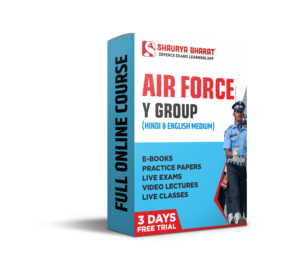 Airforce Y group full online course-shaurya bharat app