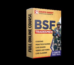 BSF tradesmen full online course -shaurya bharat app