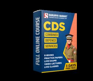 CDS full online course-shaurya bharat app