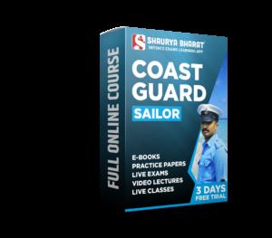 Coast Guard Sailor full online course -shaurya bharat app