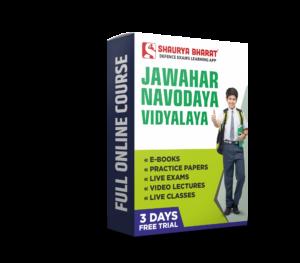 JNV full online course-shaurya bharat app