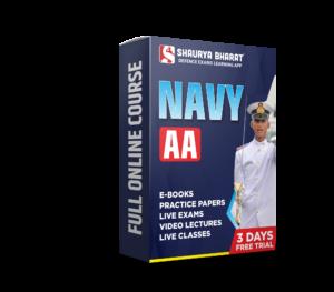 navy aa full online course-shaurya bharat app