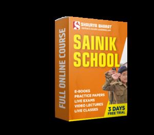 SAINIK SCHOOL full online course-shaurya bharat app