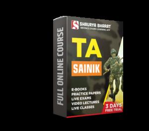 Ta Sainik full online course-shaurya bharat app