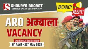 Indian Army Rally ARO Ambala