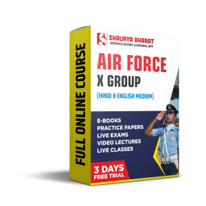 Airforce X full online course-shaurya bharat app