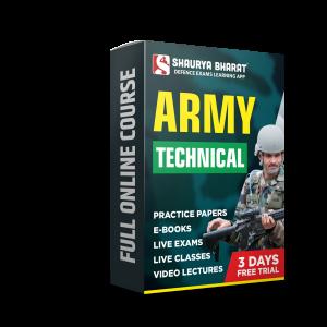 Army Technical full online course-shaurya bharat app