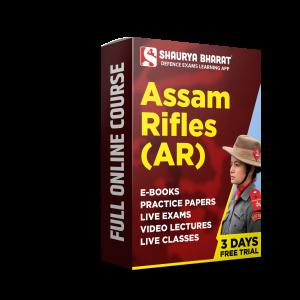Assam Rifles full online course -shaurya bharat app