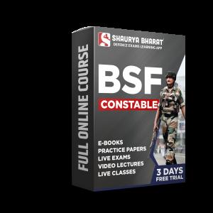 BSF Constable full online course -shaurya bharat app
