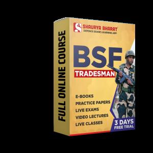BSF Tradesman full online course -shaurya bharat app