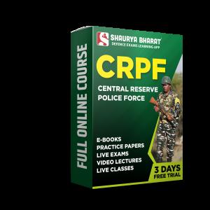 CRPF full online course - shaurya bharat app