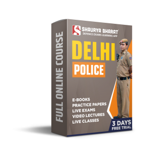 Delhi Police full online course-shaurya bharat app