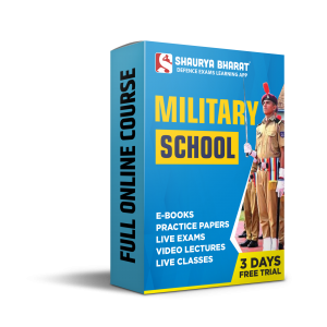 MILITARY SCHOOL full online course-shaurya bharat app