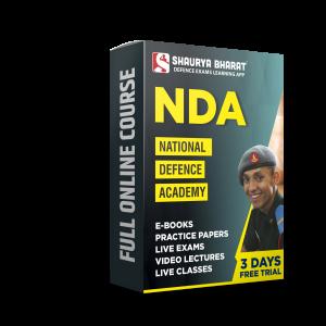 NDA full online course-shaurya bharat app