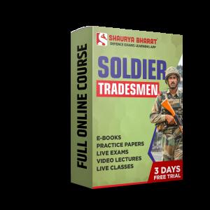 Soldier Tradesmen full online course-shaurya bharat app
